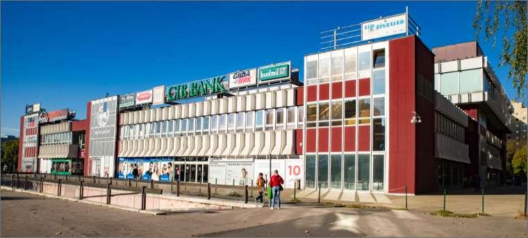 A flórián téri üzletközpont története